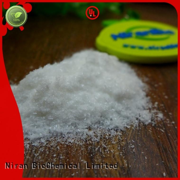 Niran msg glutamate manufacturers for Nutrition industry